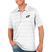 Antigua Men's Philadelphia Eagles Compass White Polo