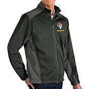 Antigua Men's Los Angeles Rams Grey Revolve Full-Zip Jacket