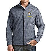 Antigua Men's Los Angeles Rams Navy Full-Zip Golf Jacket