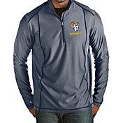 Antigua Men's Los Angeles Rams Navy Tempo Half-Zip Pullover Shirt