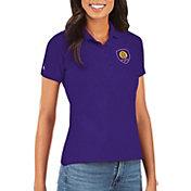 Antigua Women's Orlando City Purple Legacy Pique Polo