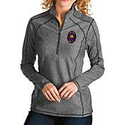 Antigua Women's Chicago Fire Grey Tempo Quarter-Zip Pullover