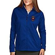 Antigua Women's Chicago Fire Navy Full-Zip Golf Jacket