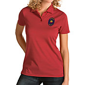 Antigua Women's Chicago Fire Red Quest Polo