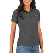 Antigua Women's Philadelphia Union Grey Legacy Pique Polo