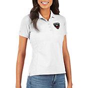 Antigua Women's D.C. United Legacy Pique White Polo