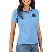 Antigua Women's New York City FC Light Blue Legacy Pique Polo