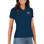 Antigua Women's New York City FC Navy Legacy Pique Polo
