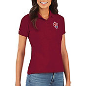 Antigua Women's Colorado Rapids Red Legacy Pique Polo