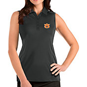 Antigua Women's Auburn Tigers Grey Tribute Sleeveless Tank Top