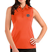 Antigua Women's Auburn Tigers Orange Tribute Sleeveless Tank Top