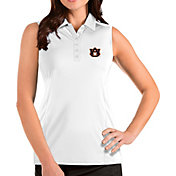 Antigua Women's Auburn Tigers Tribute Sleeveless Tank White Top