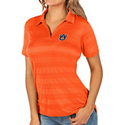 Antigua Women's Auburn Tigers Orange Compass Polo