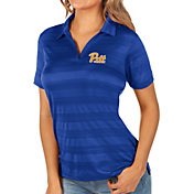 Antigua Women's Pitt Panthers Blue Compass Polo