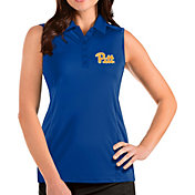 Antigua Women's Pitt Panthers Blue Tribute Sleeveless Tank Top