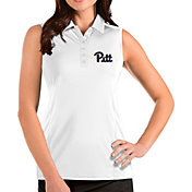 Antigua Women's Pitt Panthers Tribute Sleeveless Tank White Top