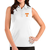 Antigua Women's Tennessee Volunteers Tribute Sleeveless Tank White Top