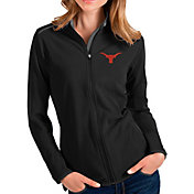 Antigua Women's Texas Longhorns Glacier Full-Zip Black Jacket