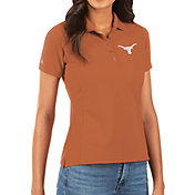 Antigua Women's Texas Longhorns Burnt Orange Legacy Pique Polo