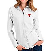 Antigua Women's Texas Longhorns Glacier Full-Zip White Jacket