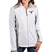 Antigua Women's Texas Longhorns Revolve Full-Zip White Jacket