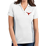 Antigua Women's Texas Longhorns Venture White Polo