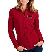 Antigua Women's San Francisco 49ers Glacier Red Full-Zip Jacket