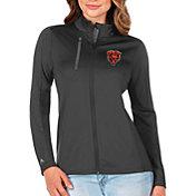 Antigua Women's Chicago Bears Grey Generation Half-Zip Pullover