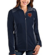 Antigua Women's Chicago Bears Navy Revolve Full-Zip Jacket