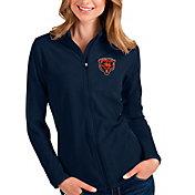 Antigua Women's Chicago Bears Navy Salute Polo