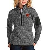 Antigua Women's Chicago Bears Smoke Fortune Pullover Jacket