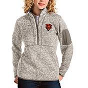Antigua Women's Chicago Bears Oat Fortune Pullover Jacket