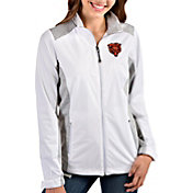 Antigua Women's Chicago Bears White Revolve Full-Zip Jacket
