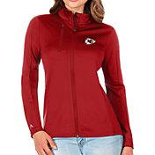 Antigua Women's Kansas City Chiefs Red Generation Full-Zip Jacket