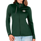 Antigua Women's Green Bay Packers Green Generation Full-Zip Jacket