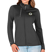 Antigua Women's Green Bay Packers Grey Generation Full-Zip Jacket