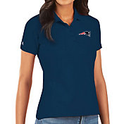 Antigua Women's New England Patriots Navy Legacy Pique Polo