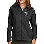 Antigua Women's Las Vegas Raiders Smoke Full-Zip Golf Jacket