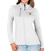 Antigua Women's Minnesota Vikings White Generation Full-Zip Jacket