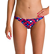 arena Women's Red USA Bikini Bottoms