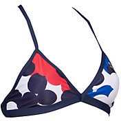 arena Women's USA Dots Tie Back Bikini Top