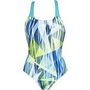arena Women's Shading Prism Pro Back One Piece Swimsuit