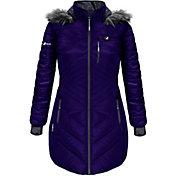 ActionHeat Women's 5V Battery Heated Long Puffer Jacket
