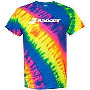 Babolat Men's Tie Dye Logo T-Shirt