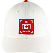 Black Clover Men's Canada Represent Fitted Golf Hat