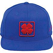 Black Clover Men's Lucky Square Snapback Golf Hat