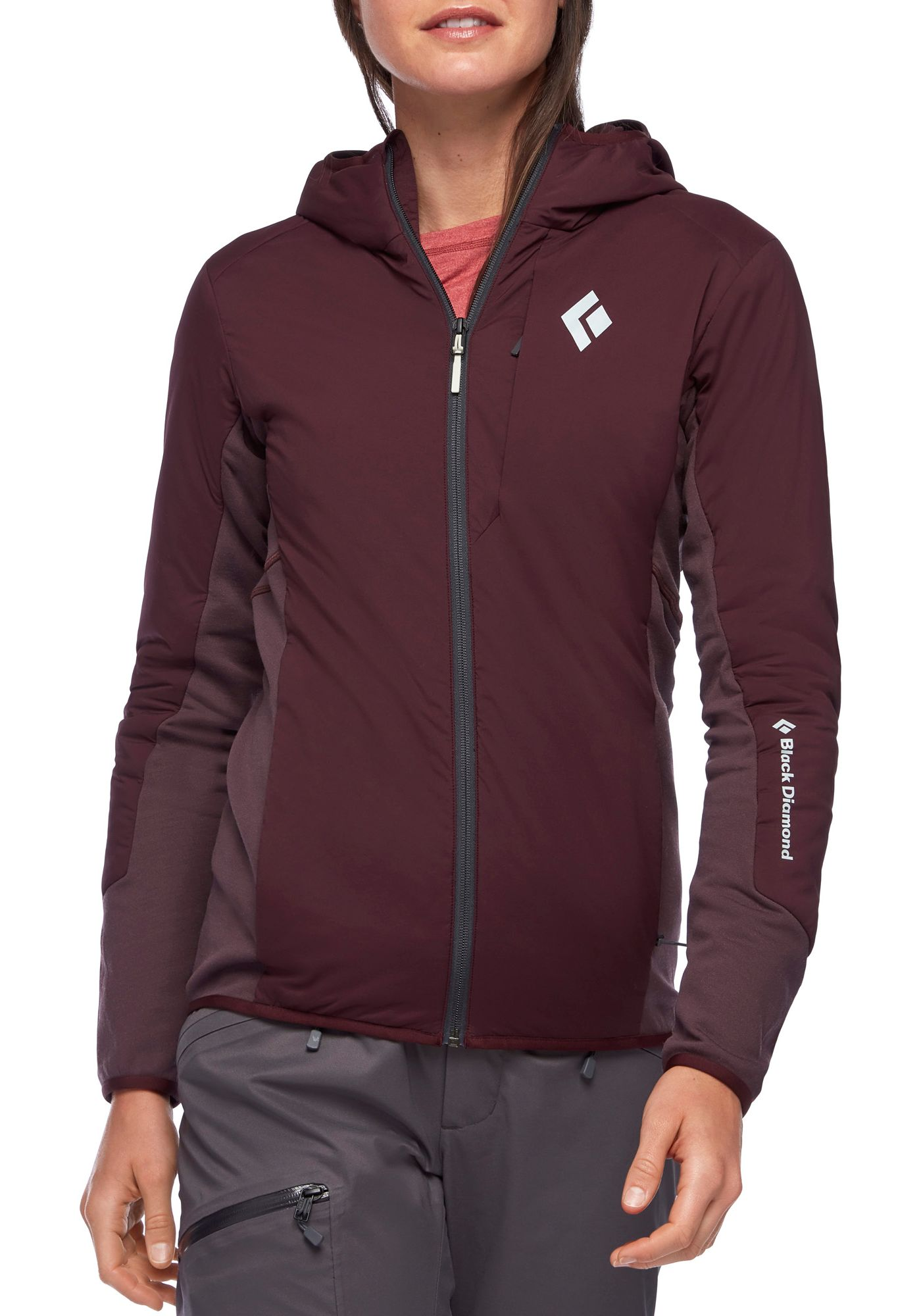 Black Diamond Women's First Light Hybrid Full Zip Jacket