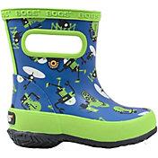 BOGS Boys' Skipper Robots Waterproof Boots