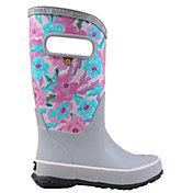 BOGS Girls' Pansies Waterproof Rainboots