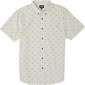 Billabong Men's All Day Jacquard Button Down Short Sleeve Top